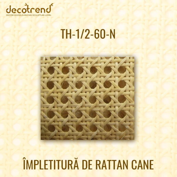 Impletitura Rattan Cane TH-1_2-60-N