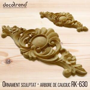 Ornament sculptat - arbore de cauciuc RK-630