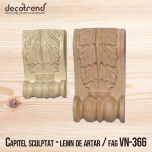 Sculpturi din lemn pentru stalp decoratiuni VN-366 - 01