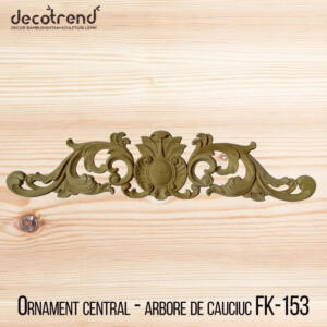 Aplica din lemn sculptura in lemn ornament mobila FK-153